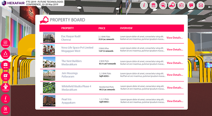 Virtual-property-board