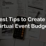 Virtual Event Budget