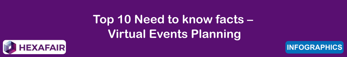 Top 10 Need to know facts – Virtual Events Planning