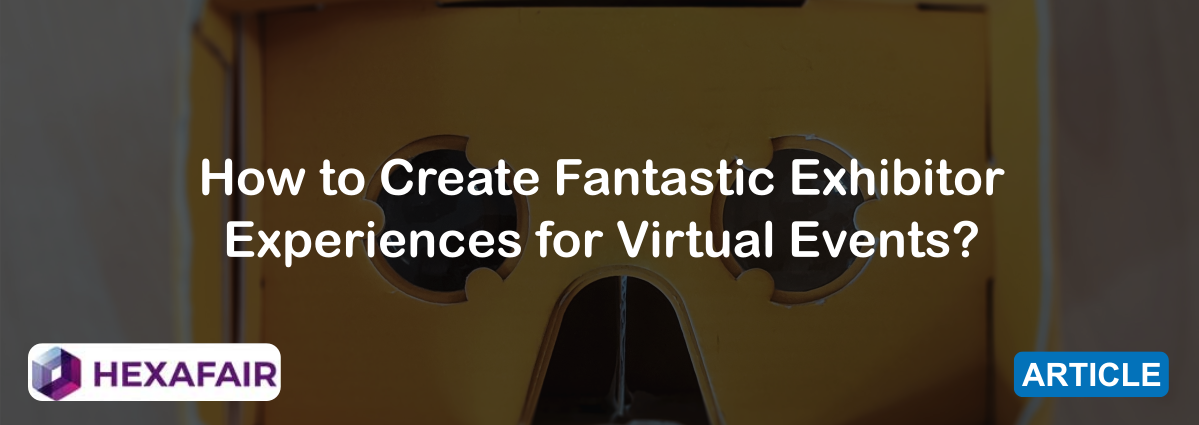 Experiences for Virtual Events