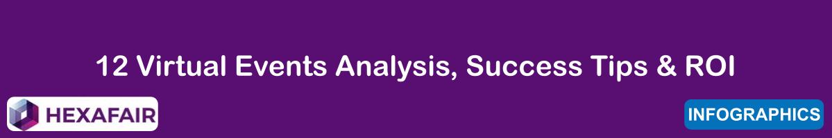 12 Virtual Events Analysis, Success Tips & ROI