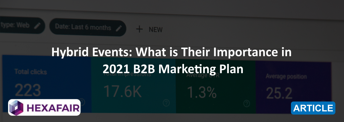Hybrid Events: What is Their Importance in 2021 B2B Marketing Plan
