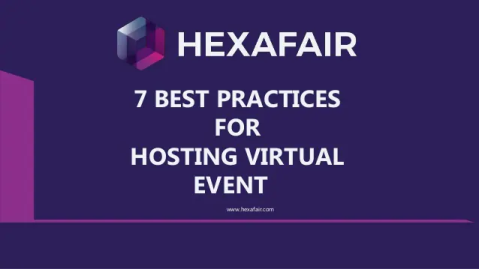 7 best practices for hosting virtual events – Presentation
