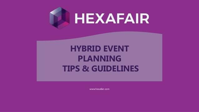 HYBRID EVENT PLANNING TIPS & GUIDELINES – Presentation