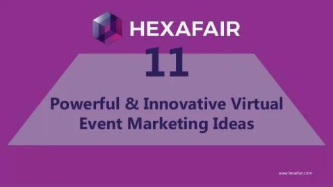 Powerful & innovative virtual event marketing ideas – Presentation